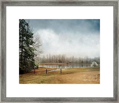 Frostbitten Framed Print by Jai Johnson
