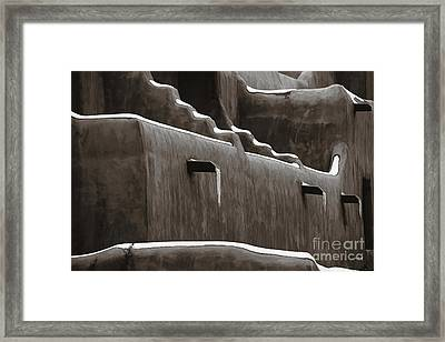 Frosting On The Clay Framed Print by Jon Burch Photography