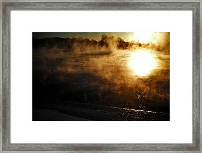 Frosty Morning ... Framed Print by Juergen Weiss