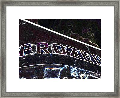 Frozen 2 Framed Print by Minnie Lippiatt