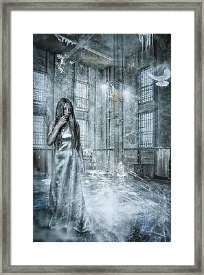 Frozen Hope Framed Print by Erik Brede