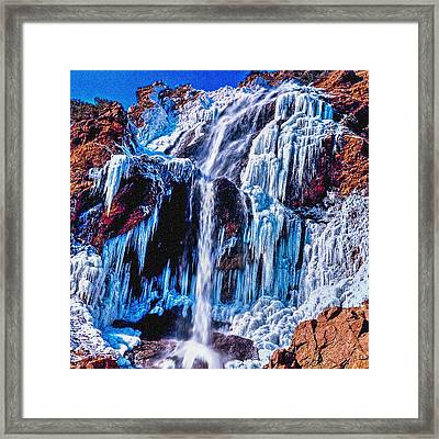 Frozen In Motion Framed Print by Bob and Nadine Johnston