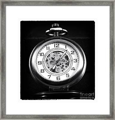 Frozen In Time Framed Print by John Rizzuto