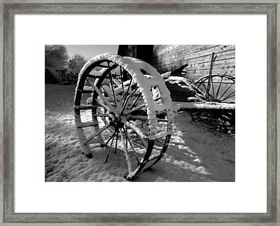 Frozen In Time Framed Print by Steven Milner