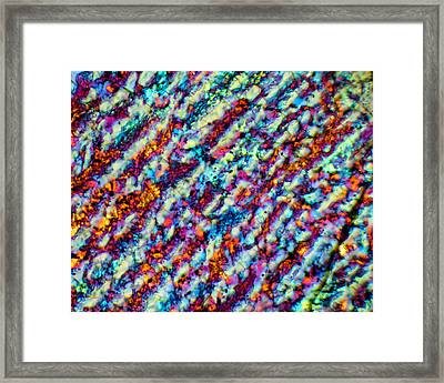 Frozen Rivers Framed Print by Tom Phillips
