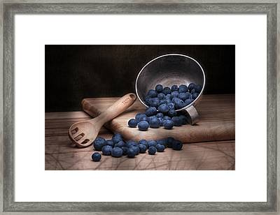 Fruit Cup Still Life Framed Print by Tom Mc Nemar