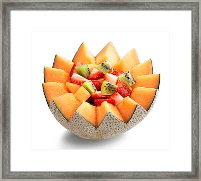 Fruit Salad Framed Print by Johan Swanepoel