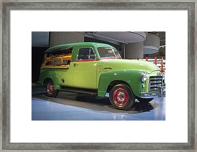 Fruit Wagon Framed Print by Michael Peychich