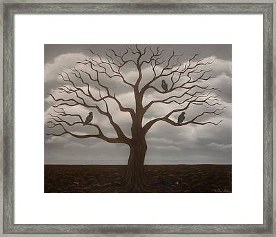 Fruitless Framed Print by Millian Glenn