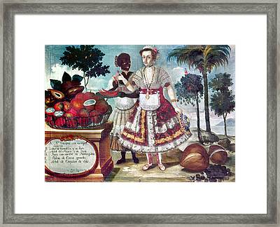 Fruits Of Peru, 1783 Framed Print by Granger