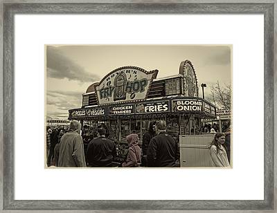 Fry Hop Framed Print by Tom Gari Gallery-Three-Photography