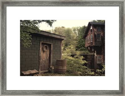 Frye's Measure Mill Framed Print by Joann Vitali
