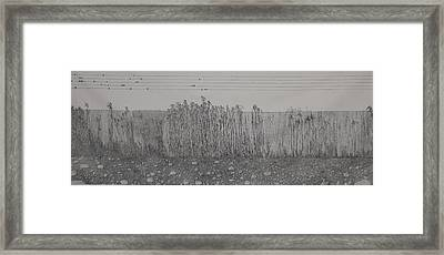 Fugue Framed Print by A  Robert Malcom