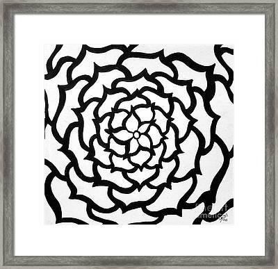 Full Bloom I I Framed Print by Anita Lewis