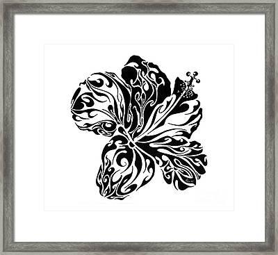 Full Bloom Of Hope Framed Print by Anushree Santhosh