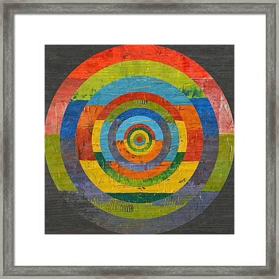 Full Circle 2.0 Framed Print by Michelle Calkins