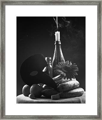 Full Ecstasy Framed Print by Marcio Faustino