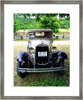 Full Frontal Ford Framed Print by Marty Koch