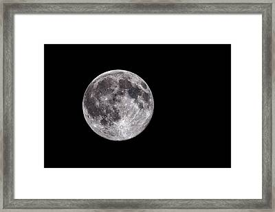 Full Moon Framed Print by Grant Glendinning