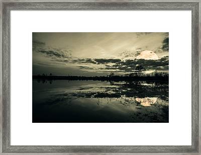 Full Moon Framed Print by Jaroslaw Grudzinski