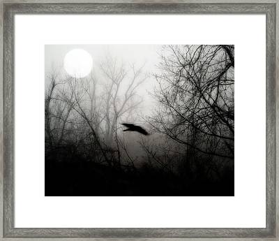 Full Moon Light Framed Print by Gothicolors Donna Snyder