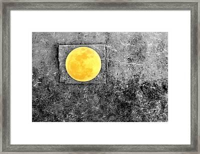 Full Moon Framed Print by Rebecca Sherman