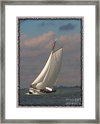 Full Sail Framed Print by Luc  Van de Steeg