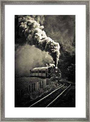 Full Steam Ahead Framed Print by Phil 'motography' Clark