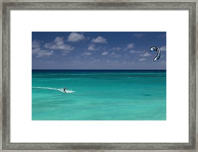 Fun In The Sun Framed Print by Mountain Dreams