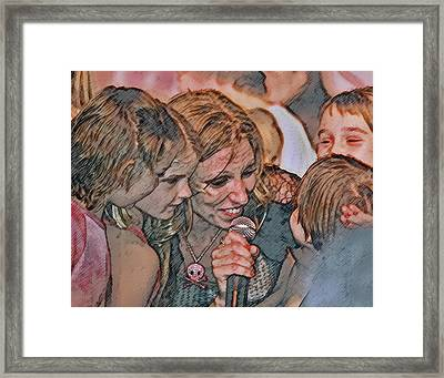 Fun With The Kids Framed Print by Brian Graybill
