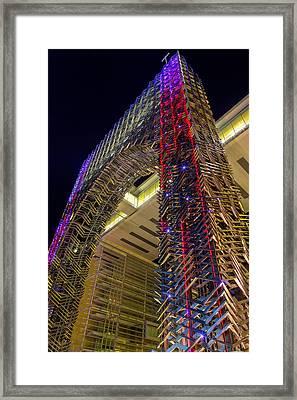 Funky Elevator Framed Print by Mario Legaspi