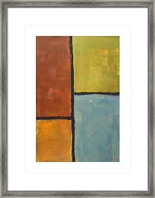 Furthest Window Framed Print by Craig Tinder