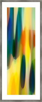 Fury Panoramic Vertical 1 Framed Print by Amy Vangsgard