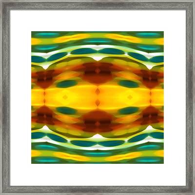 Fury Pattern 5 Framed Print by Amy Vangsgard