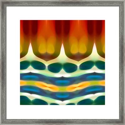 Fury Pattern 7 Framed Print by Amy Vangsgard