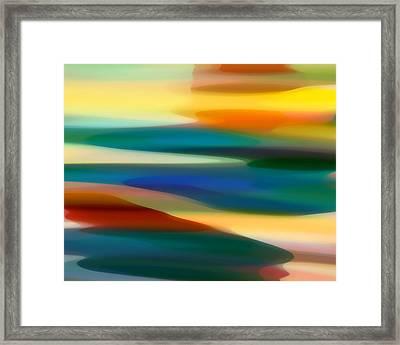 Fury Seascape 4 Framed Print by Amy Vangsgard