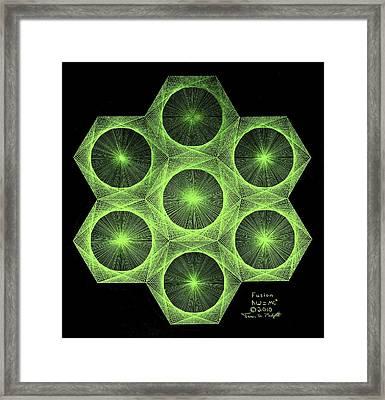 Fusion  Framed Print by Jason Padgett