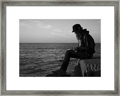 Future Author Framed Print by Frozen in Time Fine Art Photography