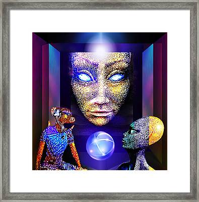 Future Land Framed Print by Hartmut Jager