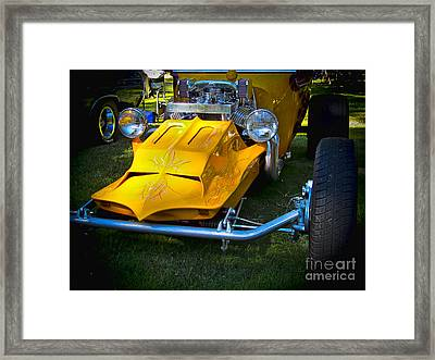Future Rod Framed Print by Ron Roberts