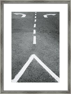Future Framed Print by Shaun Higson