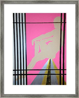 Futurhistic Framed Print by Erika Chamberlin