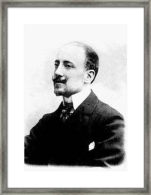 Gabriele D'annunzio Framed Print by Collection Abecasis
