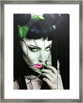 'gaga Iv' Framed Print by Christian Chapman Art