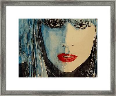 Gaga Framed Print by Paul Lovering
