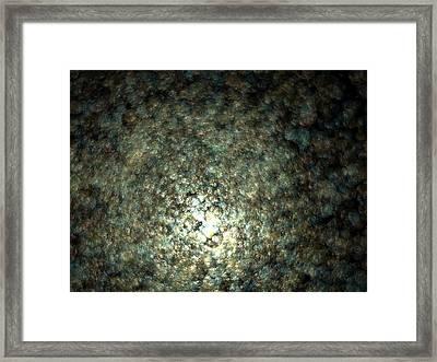 Gaia Fading B.32 Framed Print by Sora Neva