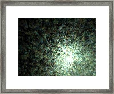 Gaia Fading C.55 Framed Print by Sora Neva