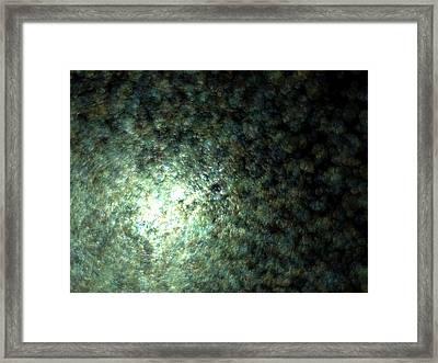 Gaia Fading C.70 Framed Print by Sora Neva