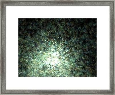 Gaia Fading C.72 Framed Print by Sora Neva