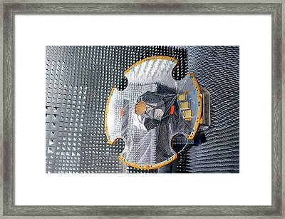 Gaia Space Probe Testing Framed Print by European Space Agency
